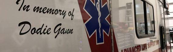 San Juan EMS welcomes a new ambulance